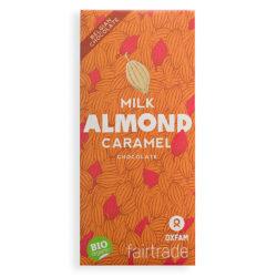 Oxfam Milk Almond Caramel Chocolade