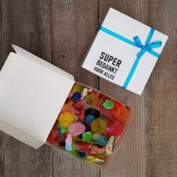 Snoepdoosje Super Bedankt Voor Alles
